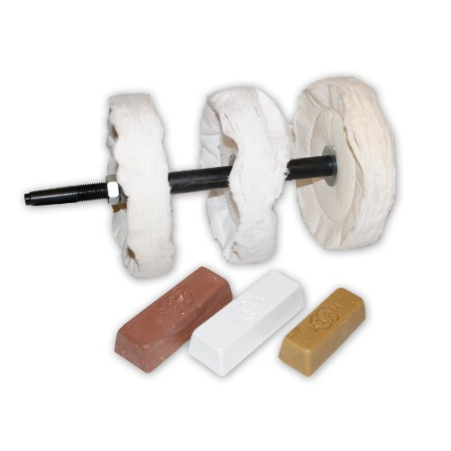 PSI Woodworking Products LBUFFSYS 3-Step Buffing System ()