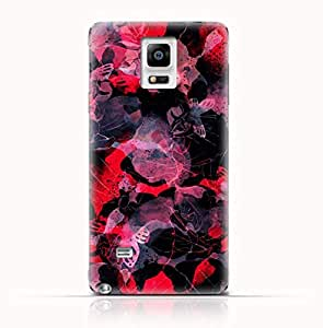 Samsung Galaxy Note Edge N9150 TPU Silicone Case with Orchids and Butterflies Design