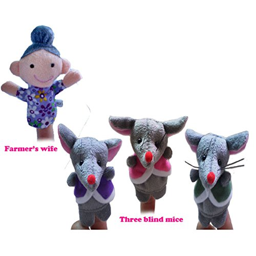 Iecool The Nursery Rhyme Finger Puppets For Three Blind Mice