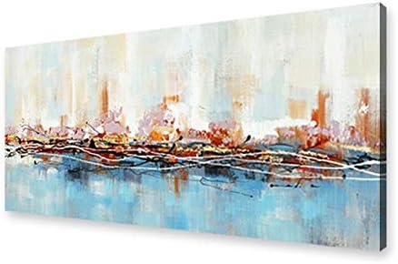 Modernos Del Arte Cuadro En Lienzo - abstracta Pintura Imágenes en color para Carteles Impresiones De La Lona Arte De La Pared Decorativa Cuadros Pintura(Sin Marco)(50x150cm)