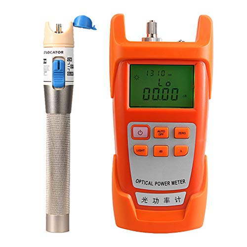 Prettyia 1Set Fiber Optic Cable Tester Optical Power Meter with Sc & Fc Connector Fiber Tester +1mW Visual Fault Locator for CATV Test,CCTV Test by Prettyia (Image #10)