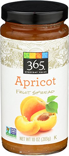 365 Everyday Value, Apricot Fruit Spread, 10 oz