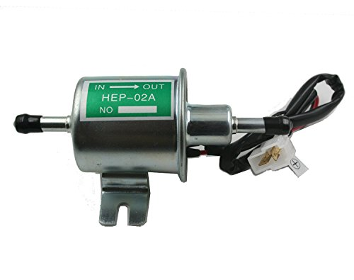inline 12 volt fuel pump - 7