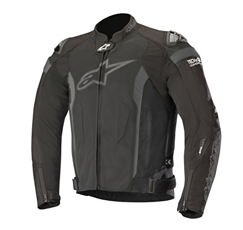 - Alpinestars T-Missile Air Textile Motorcycle Jacket for Tech-Air Race Airbag System (XL, Black Black)