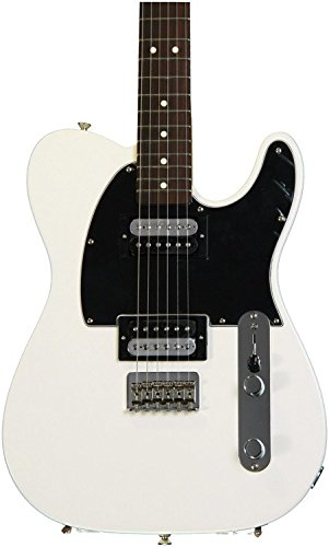 Fender Standard Telecaster Electric Guitar - HH - Rosewood Fingerboard, Olympic White