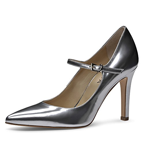 Escarpins Femme Brush Argent Cuir Evita 40 Shoes Ilaria Shoes Evita anZPICq