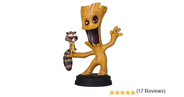 Estatua Marvel Guardianes de la Galaxia 2 Groot & Rocket: Amazon ...