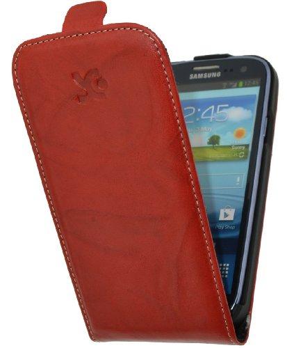 Suncase - Funda con tapa para Samsung Galaxy S III i9305 LTE 4G, color verde Rojo