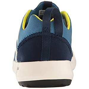 adidas Outdoor Men's Terrex Climacool Boat Water Shoe, Core Blue/Chalk White/Bright Yellow, 10 M US