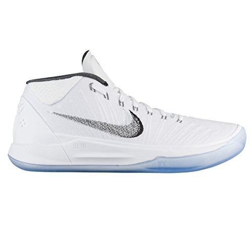 NIKE Men's Kobe AD Basketball Shoe White/Metallic Silver/Ice Black - Pink release dates authentic 2014 unisex online really cheap shoes online buy cheap shop for buy cheap limited edition RBJt9iGk
