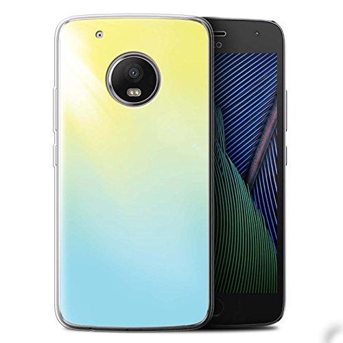 Stuff4 Gel Tpu Phone Case   Cover For Motorola Moto G5 Plus   Solar Flare Design   Vivid Ombre Collection