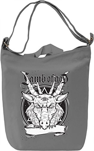 Lamb of god Borsa Giornaliera Canvas Canvas Day Bag| 100% Premium Cotton Canvas| DTG Printing|