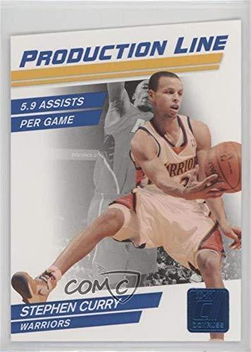(Stephen Curry #/49 (Basketball Card) 2010-11 Donruss - Production Line - Sapphire Die-Cut #54)