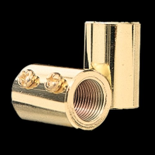 Quorum Lighting Downrod Coupler in Satin Nickel Finish - 6-0065 by Quorum Lighting (Image #1)