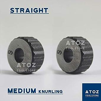 Outil à moleter en acier inoxydable de qualité supérieure, 1x Rändelwerkzeug, 1 1x Rändelwerkzeug ATOZ