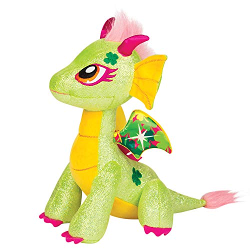 Glittershine Dragons Twinkle Luck Stuffed Animal 30cm White