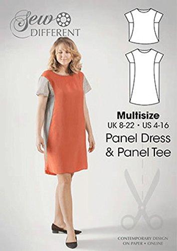 Sew Different Ladies Sewing Pattern Panel Dress: Amazon.co.uk ...