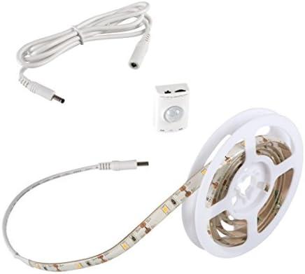 DE 1-3m LED Stripe mit PIR-Bewegungsmelder Lichtband Lichtleiste Nachtlicht