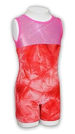 Amazon.com: Pelle Girls' Discount Gymnastics Biketard