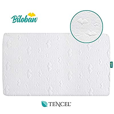 Waterproof Pack N Play Mattress Protector - 100% Organic Tencel Surface Playard Mattress Cover for Mini & Portable Crib Mattress, Ultra Soft, White.
