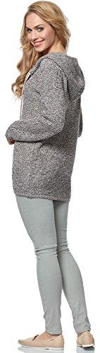 Melange Femme Cardigan pour Style MSSE0031 Merry Beige qx8Y0PvOw