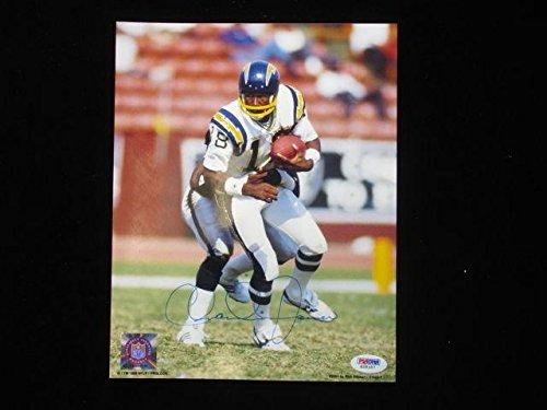 (Signed Charlie Joiner Photo - 8x10 PSA DNA - Autographed NFL Photos)