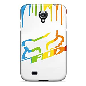 Great Hard Cell-phone Case For Galaxy S4 With Allow Personal Design Beautiful Fox Racing Skin CassidyMunro