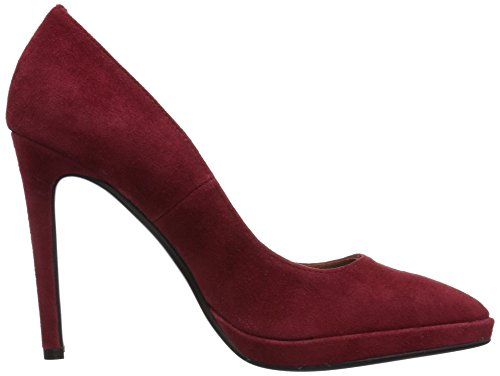 Lola Cruz Mujeres Taurus Pump Red