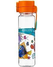 Disney Finding Nemo BPA-free Tritan Bottle with Push Cap, Orange, 600ml