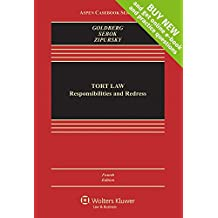 Tort Law: Responsibilities and Redress [Connected Casebook] (Aspen Casebook)