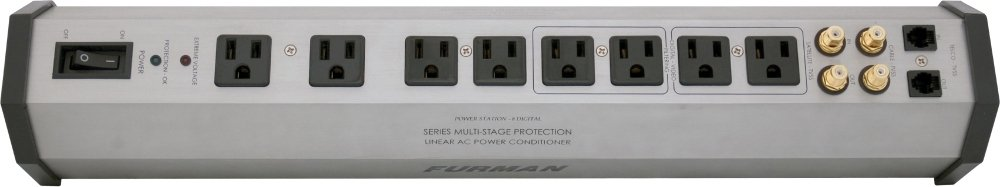 Furman PST-8D SMP EVS LiFT 15-Amp Aluminum Chassis 8-Outlet Isolated Outlet Banks Advanced Level Power Conditioning Furman Pro
