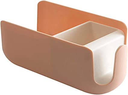 Free Punching Hair Dryer Holder for Bathroom Toilet Storage Shelf