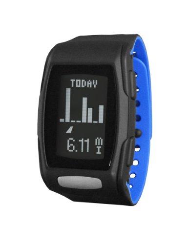 LifeTrak Zone C410 24-hour Heart Rate Watch, Black/Blizzard Blue