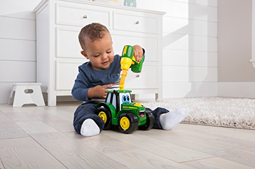 TOMY John Deere Build-A-Johnny Tractor