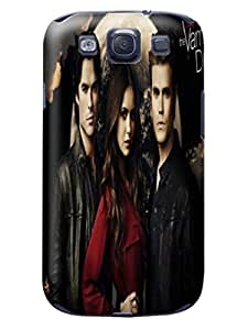 3D cool movie stars tpu skin back cover case with texture for Samsung Galaxy s3 of The Vampire Diarie in Fashion E-Mall