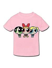 Age 2-6 Kids Toddler Powerpuff Girls Little Boys Girls T-Shirt LightPink Size 5-6 Toddler