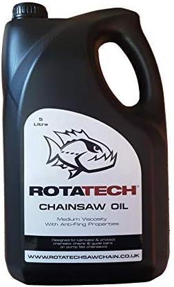Auténtico Rotatech motosierra aceite