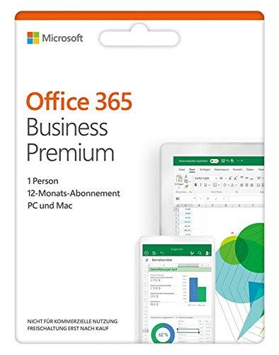 Microsoft Office 365 Business Premium   PC / Mac   multilingual   Box Standard 5 PC/Mac, 5 phones
