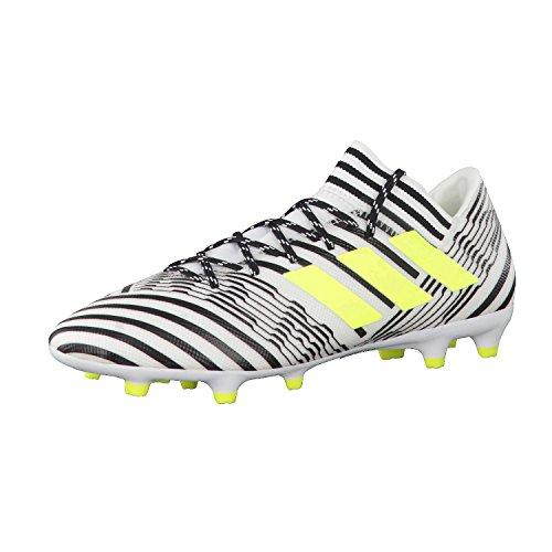 adidas Nemeziz 17.3 Fg, Zapatillas de Deporte para Hombre Multicolor (Ftwr White/solar Yellow/core Black)