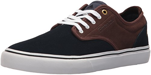 Emerica Herren Wino G6 Black Skateboardschuhe Navy/brown/white