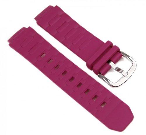 Price comparison product image Casio watch strap watchband Resin Band Purpur BGA-150