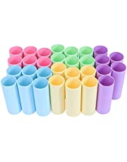 Milisten 20pcs Paper Tubes Cardboard Tubes for Storage Art Drawings Posters Paintings Protector