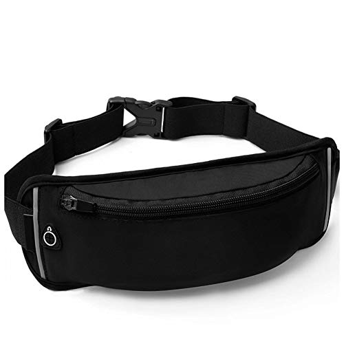 Dora Bridal Fanny Packs for Women Men Water Resistant Waist Pack Close Fitting Money Belt Adjustable Purse Bum Bag Fits Most Phone All Waist Sizes Travelling Hiking Jogging Running Workouts Cycling (Best Bum Bags For Travelling)