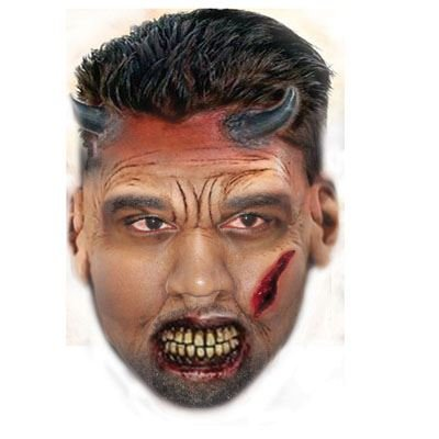 Celebrity Cutouts Zombie Kanye West Mask, Halloween, Fancy Dress, Party ()
