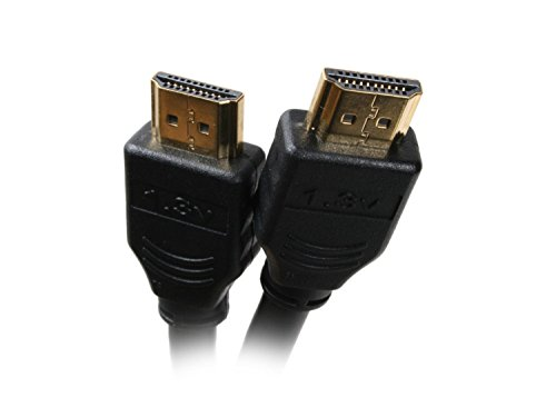 Nippon Labs DHDMI-15BK 15-Feet D Series Heavy Duty HDMI Cable Standard Speed 20AWG with Gold Plated Connector, Black