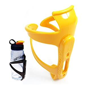 Blue Hotsale Plastic Bike Bicycle Water Bottle Holder Cage Rack Outdoor Sports Strong Toughness Durable Cycling Equipment Accessories Gateway Comp Bike PC Water Bottle Cage Bottle Holder Bicycle Bike Light Drink Water Bottle Cage Holder Mountain Fashion Bike Carbon Ultra-light Water Bottle Holder Cage Bottle Holder