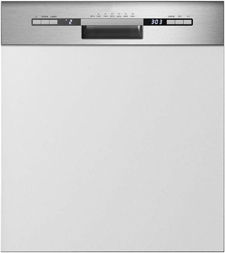 Guoda Lavavajillas Lavavajillas Portátil Lavavajillas Empotrado 1760W De Potencia Totalmente Automáticas De Gran Capacidad De 13 Conjuntos De Alta Temperatura De Esterilización De Limpieza