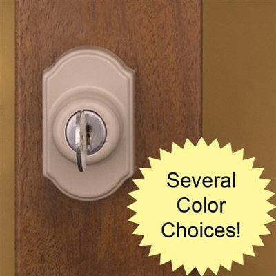 Storm Door Hardware Deadbolt Keylock - SANDSTONE-3/4 inch Thick Door by Home Products N' More (Image #3)