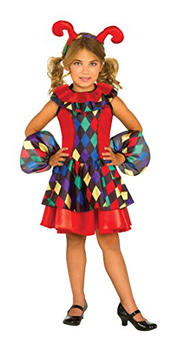 [Rubie's Costume Jester Dress Deluxe Child Costume, Large] (Deluxe Dress Child Costumes)