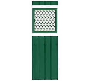 GLOBEL Industries Casa de metal para ventana Uso con rejilla//Color: Verde//Apto para todos los modelos